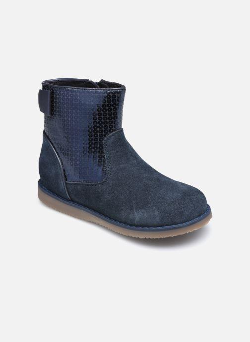 Bottines et boots Rose et Martin KEBOOTS LEATHER Bleu vue détail/paire