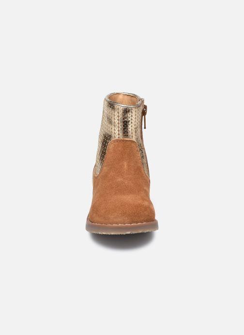 Bottines et boots Rose et Martin KEBOOTS LEATHER Marron vue portées chaussures