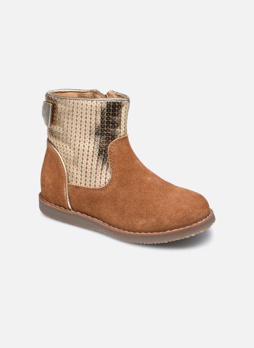 Bottines et boots Rose et Martin KEBOOTS LEATHER Marron vue détail/paire