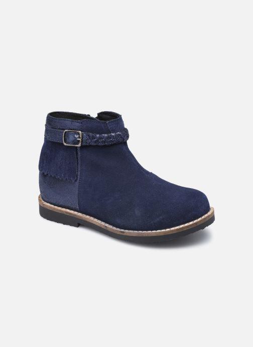 Bottines et boots Rose et Martin KETALLIC LEATHER Bleu vue détail/paire