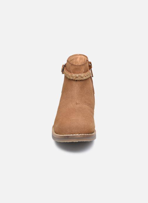 Stiefeletten & Boots Rose et Martin KETALLIC LEATHER braun schuhe getragen