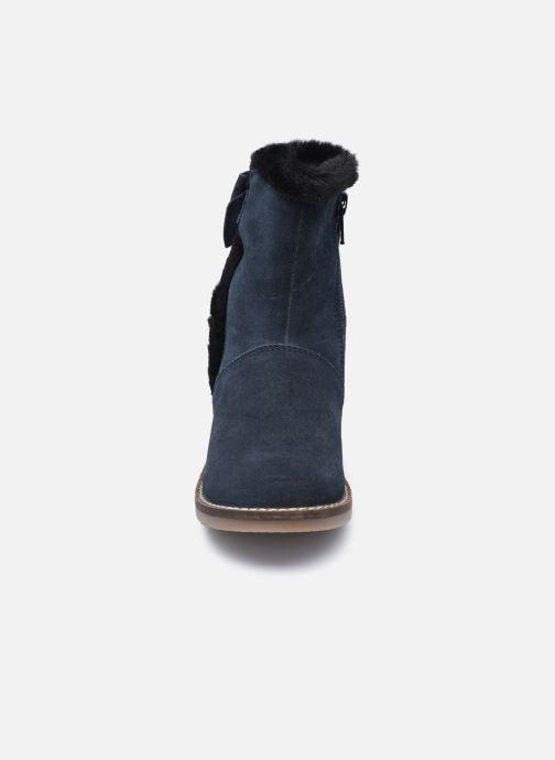 Bottines et boots Rose et Martin KELHIVER LEATHER Bleu vue portées chaussures