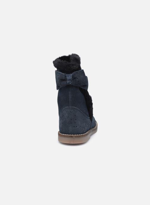Bottines et boots Rose et Martin KELHIVER LEATHER Bleu vue droite