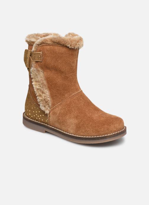 Bottines et boots Rose et Martin KELHIVER LEATHER Marron vue détail/paire