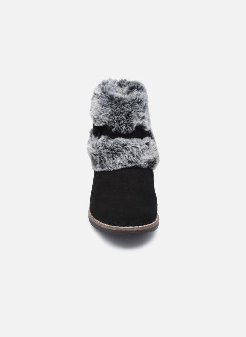 Bottines et boots Rose et Martin KOUCHO LEATHER Noir vue portées chaussures