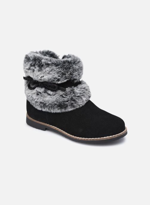 Bottines et boots Rose et Martin KOUCHO LEATHER Noir vue détail/paire