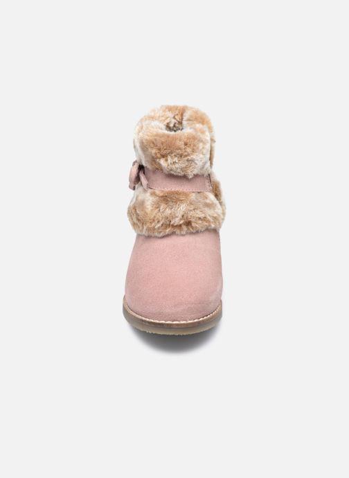 Bottines et boots Rose et Martin KOUCHO LEATHER Rose vue portées chaussures