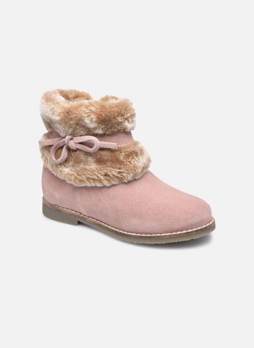 Bottines et boots Rose et Martin KOUCHO LEATHER Rose vue détail/paire