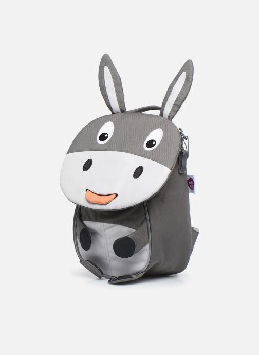 Sacs à dos Affenzahn Dean Donkey Small Backpack 17*11*25cm Gris vue portées chaussures