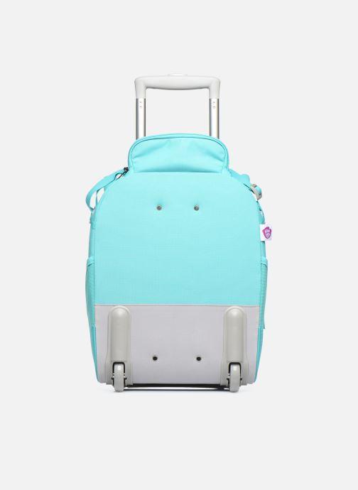 Bagages Affenzahn Olivia Owl Kids Suitcase Bleu vue face
