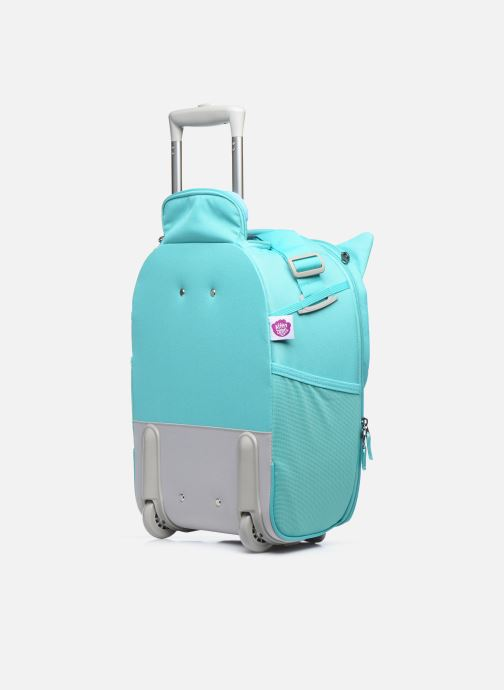 Bagages Affenzahn Olivia Owl Kids Suitcase Bleu vue droite