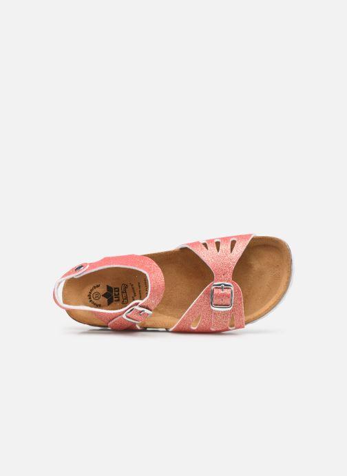 Sandales et nu-pieds Lico Bioline Sandal Rose vue gauche