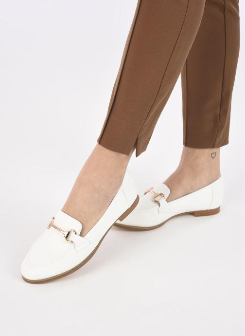 Mocassini I Love Shoes WOSSIN Bianco immagine dal basso