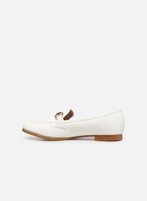 Mocassini I Love Shoes WOSSIN Bianco immagine frontale