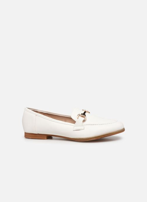 Mocassini I Love Shoes WOSSIN Bianco immagine posteriore