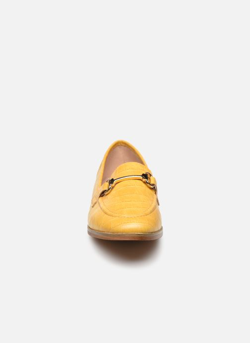 Mocassins I Love Shoes WOSSIN Jaune vue portées chaussures