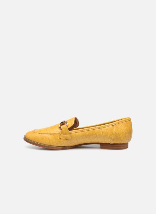 Mocassins I Love Shoes WOSSIN Jaune vue face