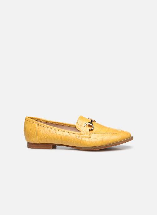 Mocassins I Love Shoes WOSSIN Jaune vue derrière
