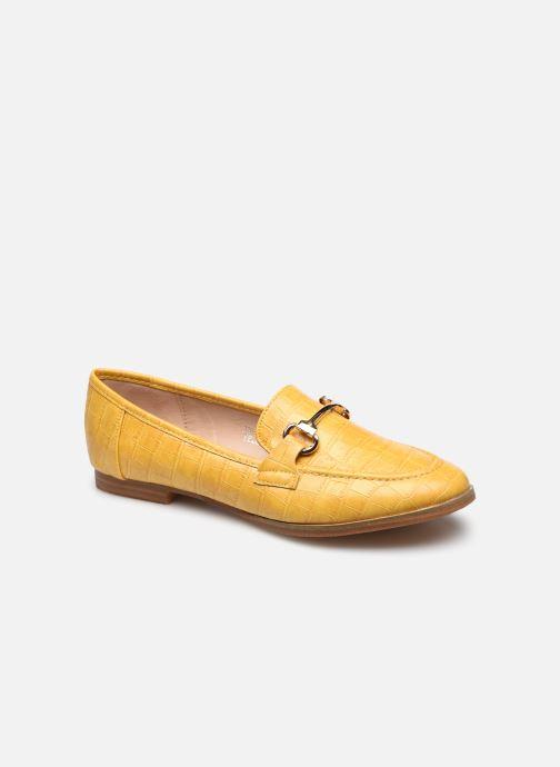 Mocassins I Love Shoes WOSSIN Jaune vue détail/paire