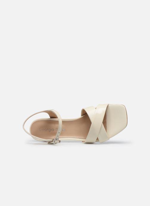 Sandali e scarpe aperte Georgia Rose Dorine Beige immagine sinistra