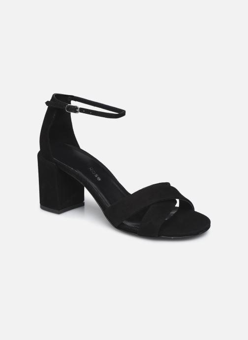 Sandales et nu-pieds Georgia Rose Dune Noir vue détail/paire