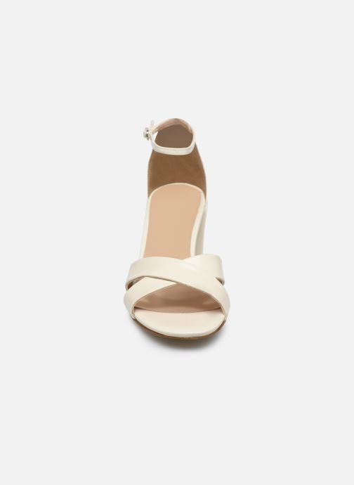 Sandalen Georgia Rose Dune beige schuhe getragen