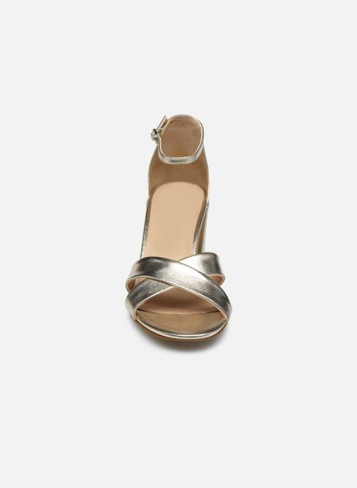 Sandalen Georgia Rose Dune gold/bronze schuhe getragen