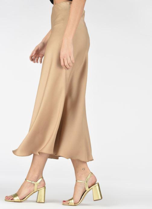 Sandalen Georgia Rose Dana gold/bronze ansicht von unten / tasche getragen