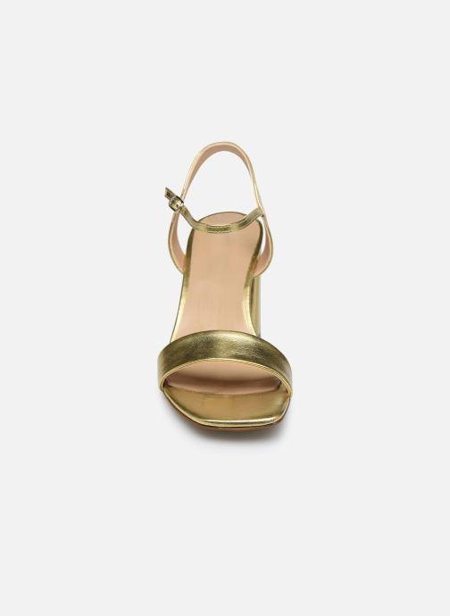 Sandalen Georgia Rose Dana gold/bronze schuhe getragen