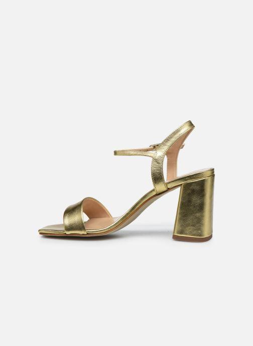 Sandalen Georgia Rose Dana gold/bronze ansicht von vorne