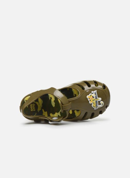 Sandales et nu-pieds Gioseppo 43067 Vert vue gauche