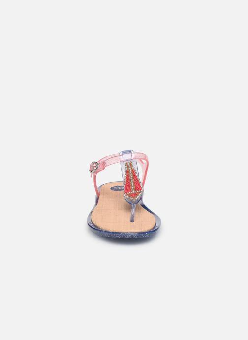 Sandalen Gioseppo 43095 rosa schuhe getragen
