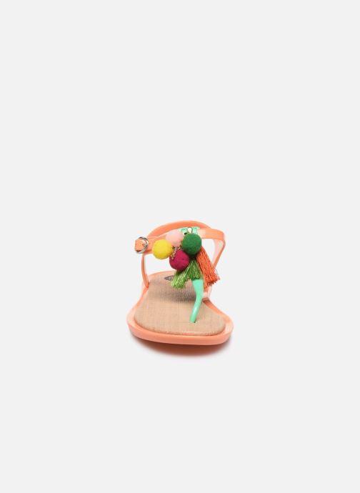 Sandalen Gioseppo 43122 orange schuhe getragen