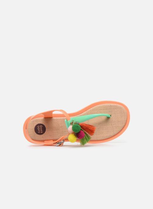 Sandalen Gioseppo 43122 orange ansicht von links