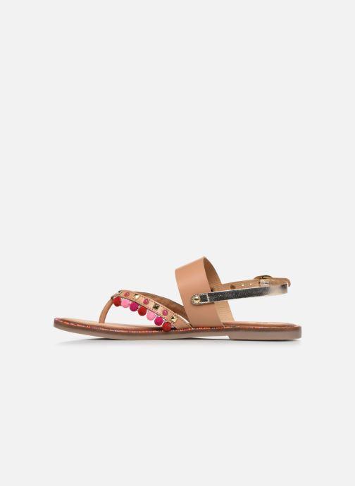 Sandalen Gioseppo 43646 braun ansicht von vorne