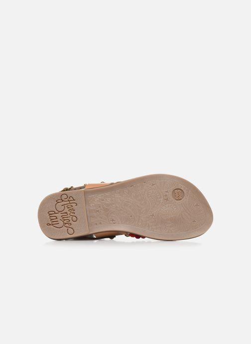 Sandalen Gioseppo 43646 braun ansicht von oben