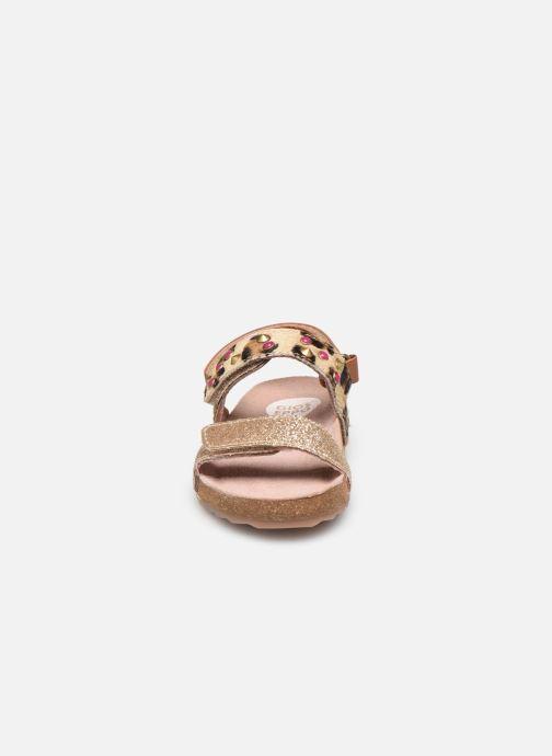 Sandalen Gioseppo 43774 gold/bronze schuhe getragen