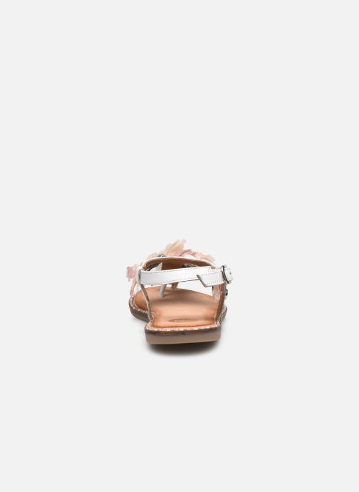 Sandali e scarpe aperte Gioseppo 43850 Bianco immagine destra