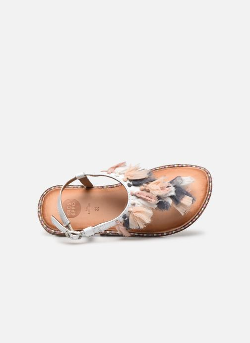 Sandali e scarpe aperte Gioseppo 43850 Bianco immagine sinistra