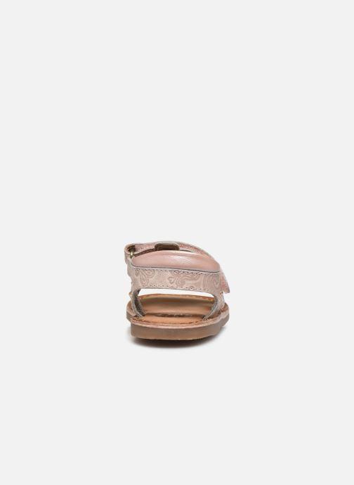 Sandalen Gioseppo 47103 rosa ansicht von rechts