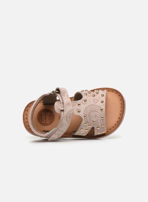 Sandali e scarpe aperte Gioseppo 47103 Rosa immagine sinistra