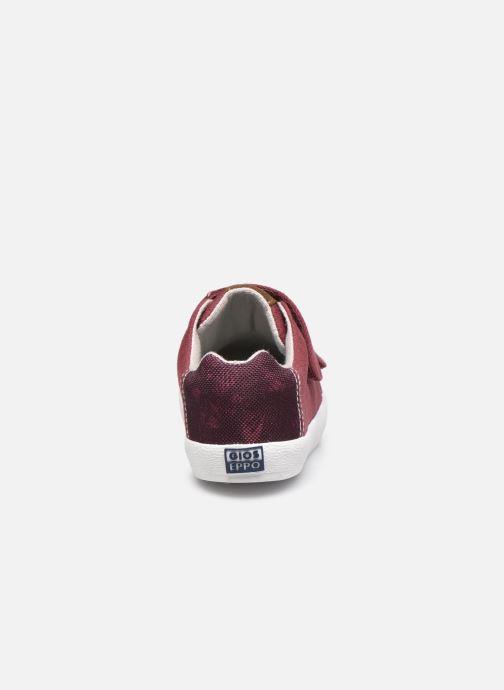 Sneaker Gioseppo 47315 weinrot ansicht von rechts