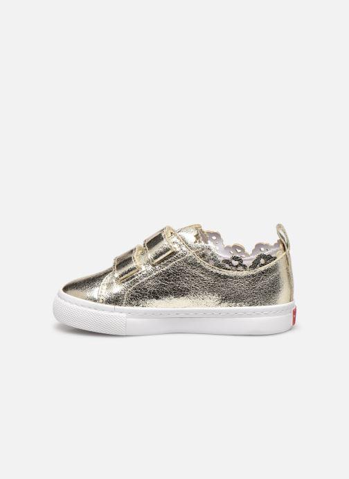 Sneaker Gioseppo 47357 gold/bronze ansicht von vorne