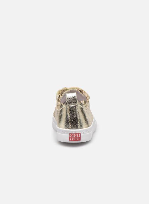 Sneaker Gioseppo 47357 gold/bronze ansicht von rechts