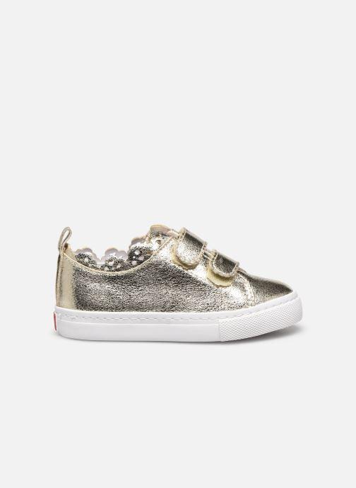 Sneaker Gioseppo 47357 gold/bronze ansicht von hinten