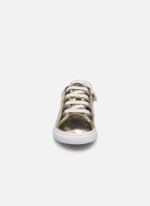 Sneaker Gioseppo 48126 gold/bronze schuhe getragen