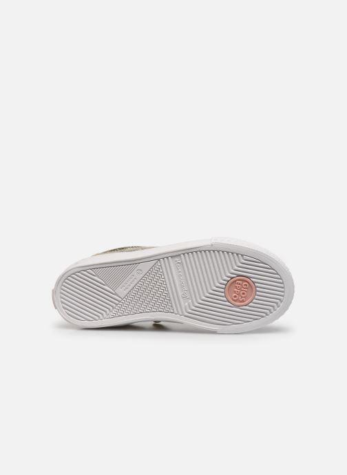 Sneaker Gioseppo 48126 gold/bronze ansicht von oben