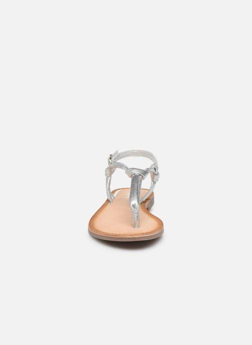 Sandales et nu-pieds Gioseppo 48216 Argent vue portées chaussures