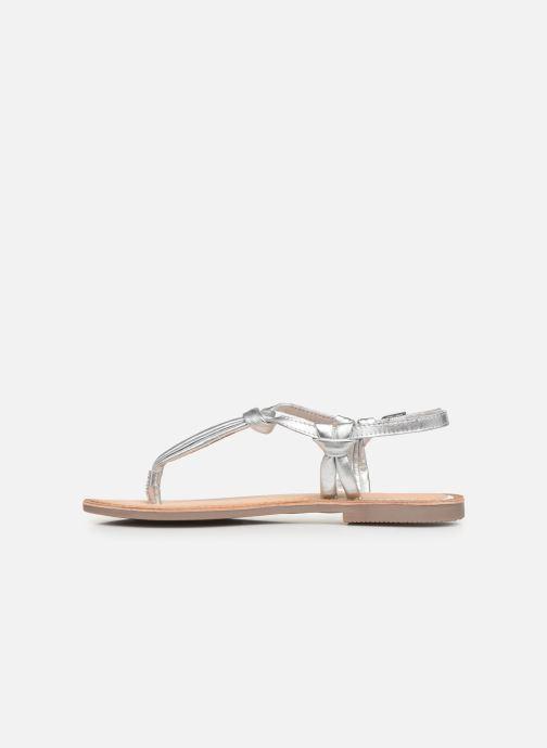 Sandales et nu-pieds Gioseppo 48216 Argent vue face
