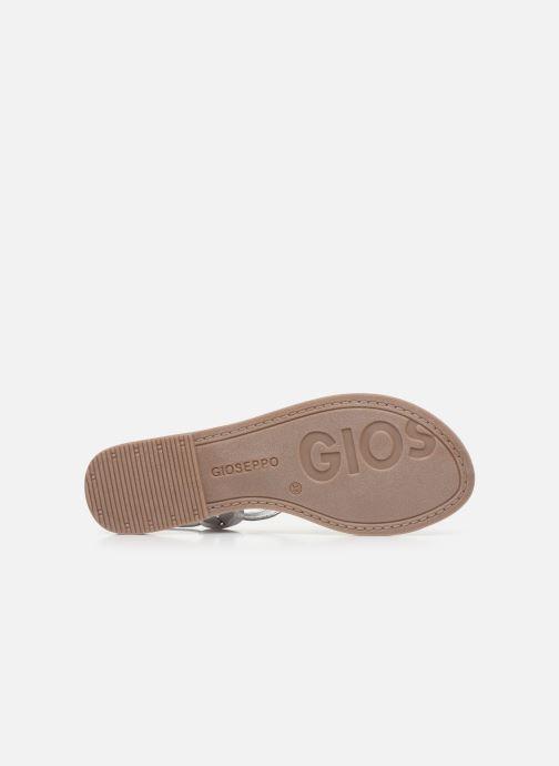 Sandales et nu-pieds Gioseppo 48216 Argent vue haut